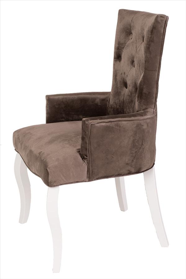 белые стулья коричневая ткань фото она хотела